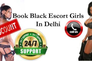 Black African Escort Services in Delhi
