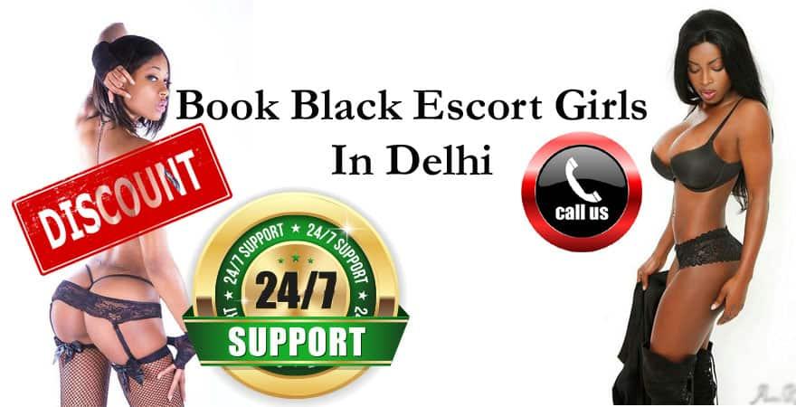 Black African Escort Services in Delhi