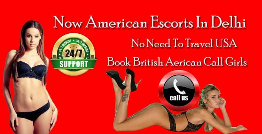 American escorts in Delhi