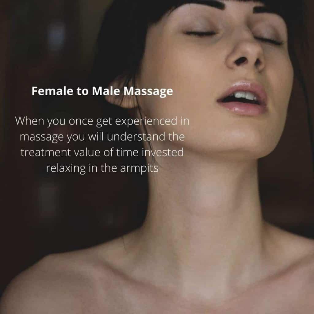 Female to Male Massage